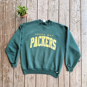Vintage Green Bay Packers Crewneck Sweatshirt XL